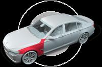 Ремонт автомобильных крыльев