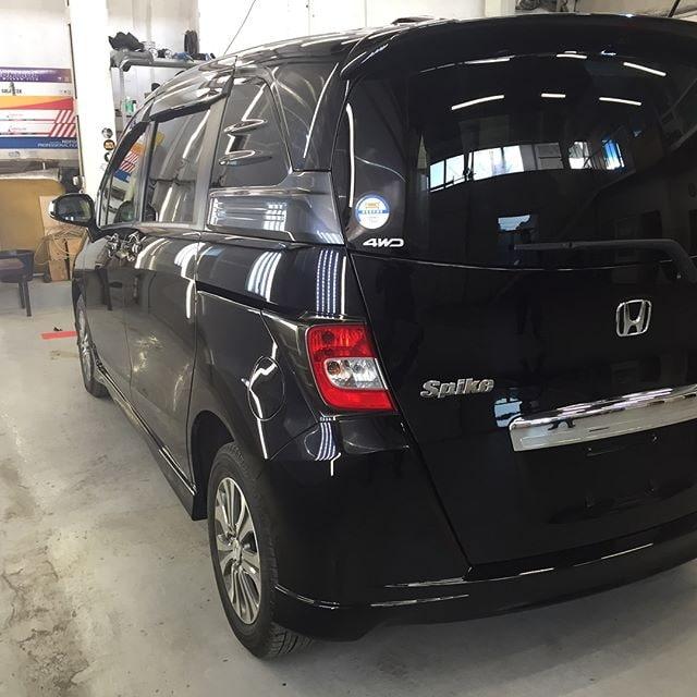 Honda Feed полировка и защитная керамика фото