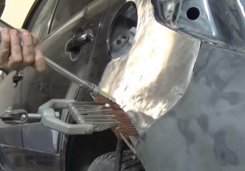 Ремонт крыла автомобиля - фото 2