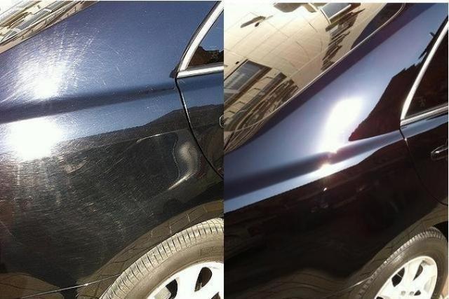 Фото покрытия авто жидким стеклом