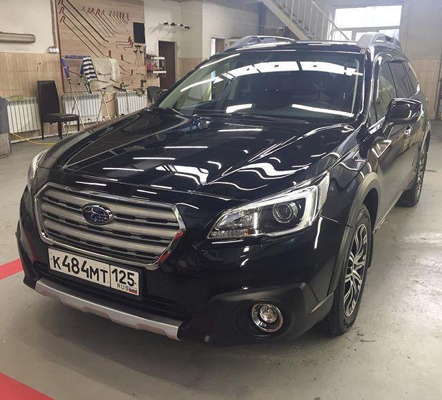 Subaru покрытие керамикой фото